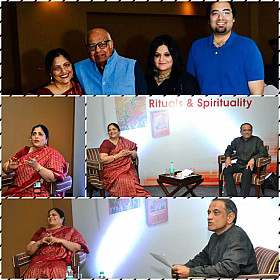 Addressing YPO members in Bangalore