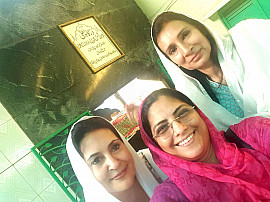 At Patteshah Dargah