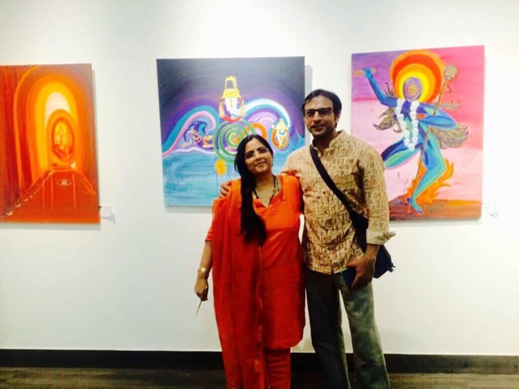 with Joy Sengupta