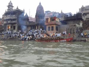 Manikarnika Ghat at Benaras